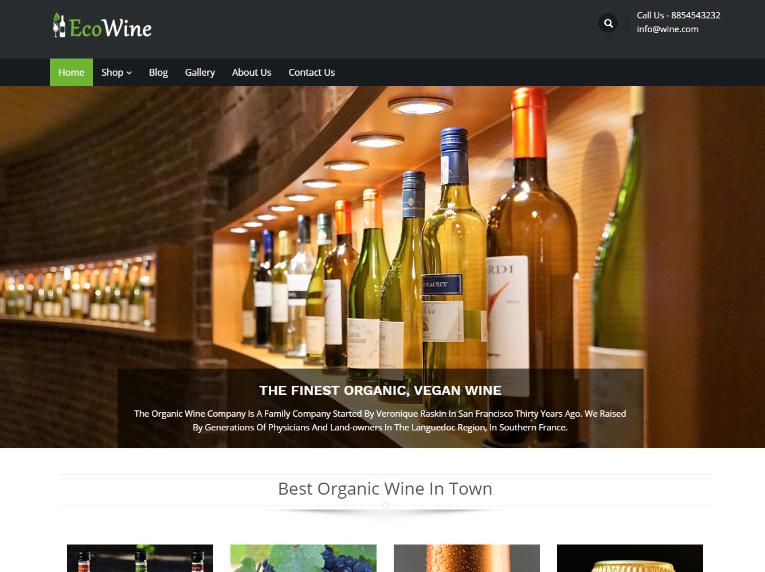 Eco Wine WP Theme