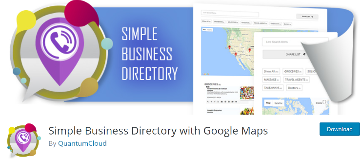 Simple business directory plugins