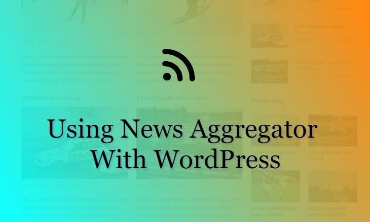 WordPress News Aggregator