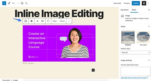 WordPress Eckstine new features