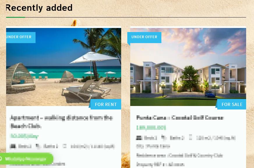 Punta cana property listings