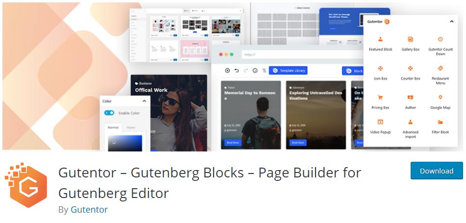 gutentor block plugin