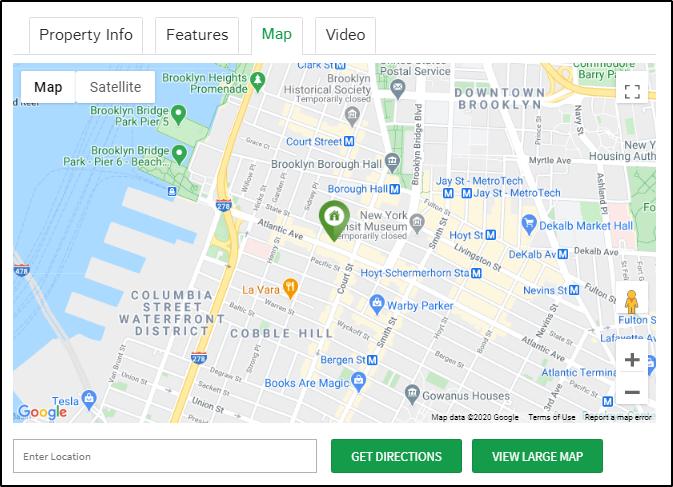address and location