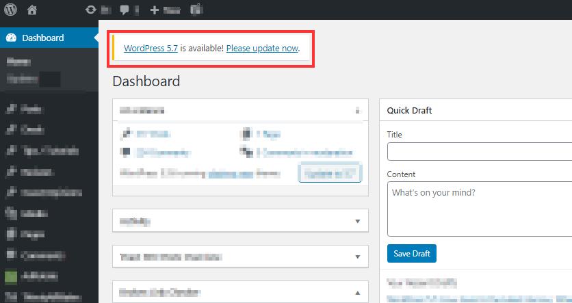 Update to WordPress 5.7