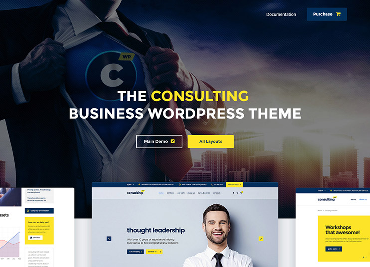 Consulting - Business, Finance WordPress Theme at ThemeForest