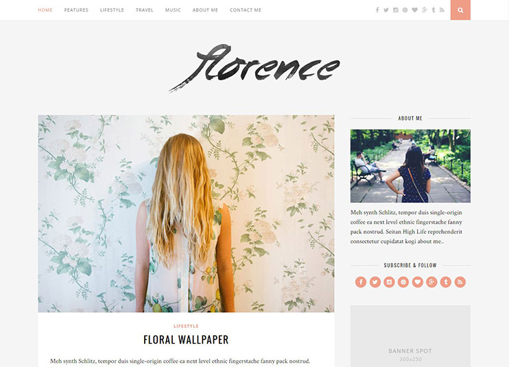 Florence---Just-another-WordPress-site, wordpress news magazine themes