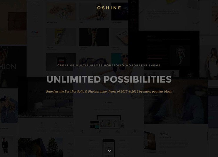 Oshine - Creative Multi-Purpose WordPress Theme at theme forest
