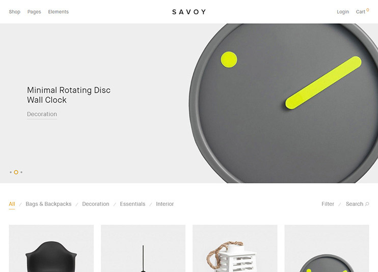 Savoy - Minimalist AJAX WooCommerce Theme at themeforest