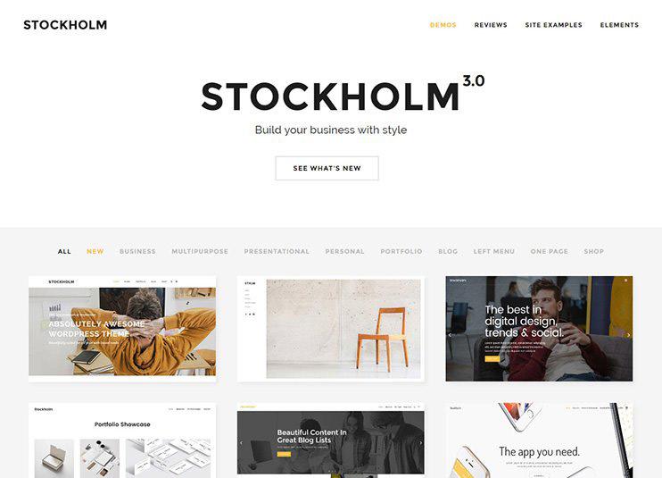 Stockholm theme forest theme