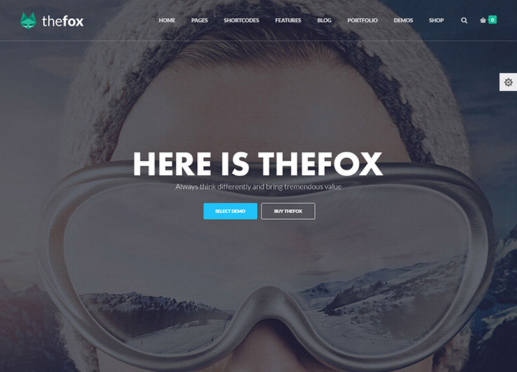 TheFox Responsive Multi-Purpose WordPress Theme at themeforest