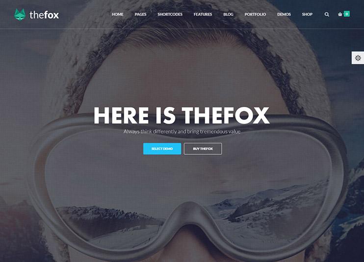 TheFox Responsive Multi-Purpose WordPress Theme at themeforest