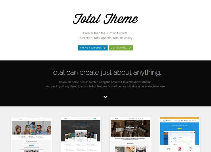 Total - Responsive Multi-Purpose WordPress Theme at themeforest