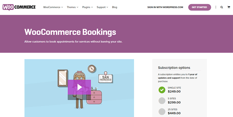 WooCOmmerce bookings FAQs