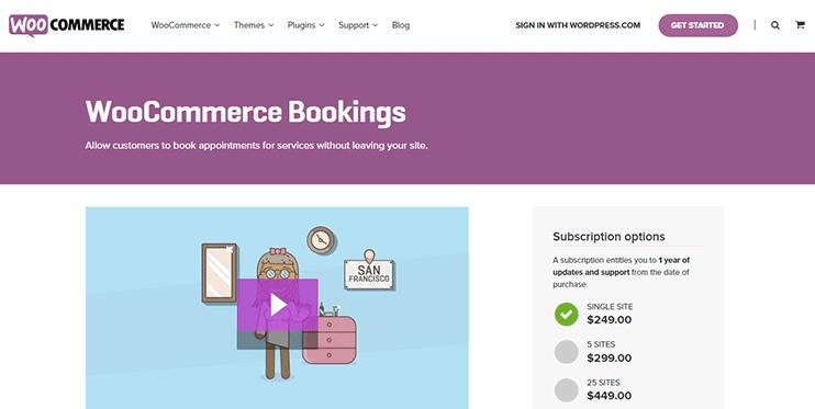 WooCOmmerce bookings FAQs